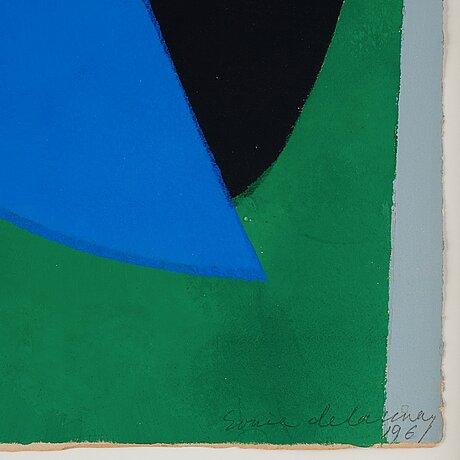 """Sonia delaunay, """"poésie de mots, poésie de couleurs."""