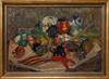 Theodor wibom, olja på duk, sign.