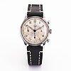 Heuer, chronograph, wristwatch, 37.5 mm.