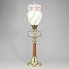 An early 20th century table light.