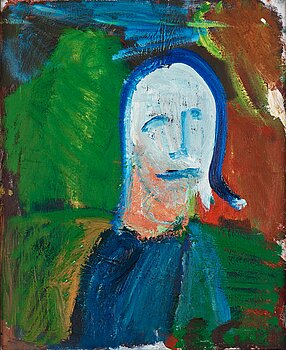 ERLAND CULLBERG, oil on canvas, signed EC.