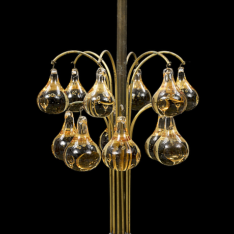 A first half of the 20th century ceiling lamp.