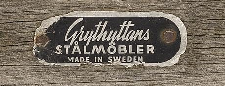 TrÄdgÅrdsmÖbler, 3 delar, Örjan lindqvist för grythyttan 1950-tal.