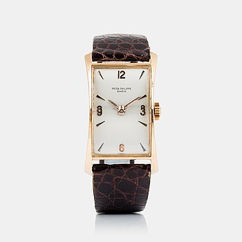 """56. Patek Philippe, Genève, """"The Hour Glass"""", """"No subsidiary seconds""""."""