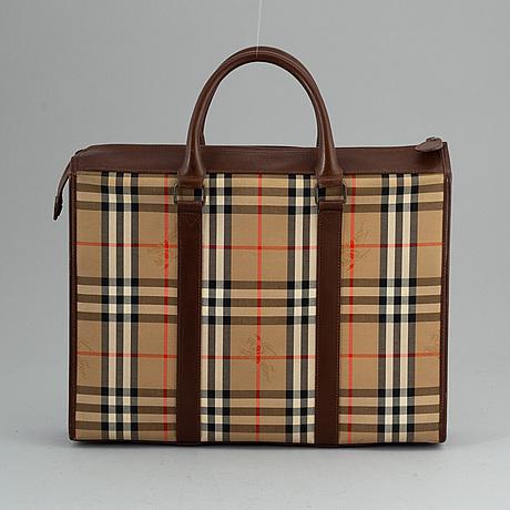 Burberry, portfölj/laptopväska.