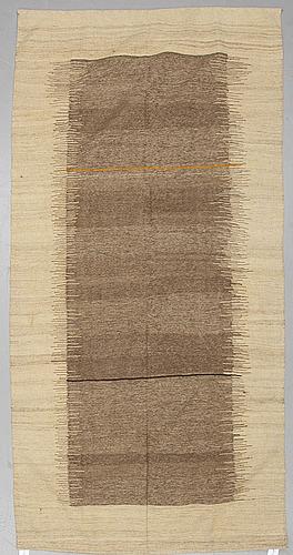 A carpet, kilim, ca 280 x 140 cm.