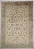 A carpet, kashan, ca 440 x 298 cm.
