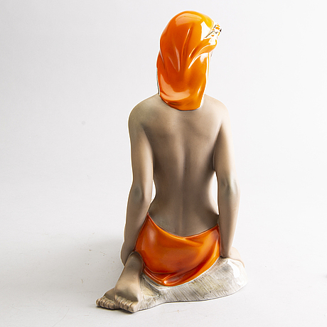 A mid 20th century italian porcelain figurine.