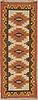 Gallerimatta, rölakan, ca 252,5 x 94-97 cm, signerad gk.