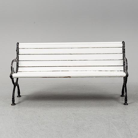 TrÄdgÅrdssoffa, götaverken, göteborg, omkring år 1900.