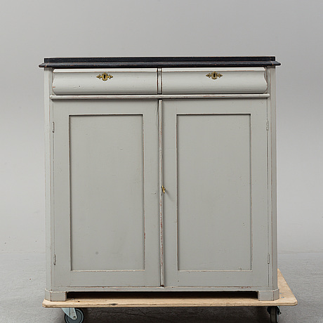 A painted sideboard, second half of the 19th century.