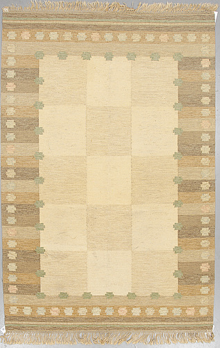 Anna-johanna ÅngstrÖm, a carpet, flat weave, ca 298 x 197-199 cm, signed Å, 1960's.