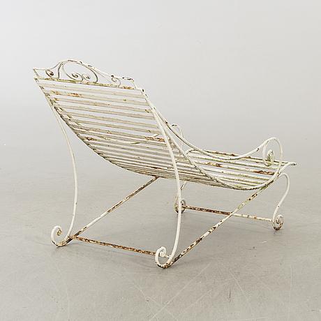 Solstol, metall, 1900-talets andra hälft.