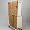 A cupboard, presumably danish, 18th century.