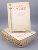 """de islandske sagaer"", 21 st, köpenhamn 1930-33."