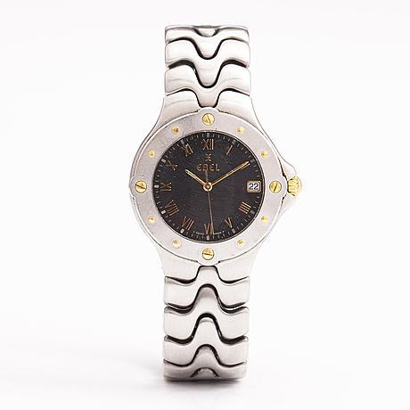 Ebel, sportwave, wristwatch, 36 mm.