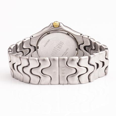 Ebel, sportwave, armbandsur, 36 mm.