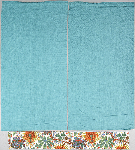 Firma svenskt tenn, curtaina and a valance, contemporary.