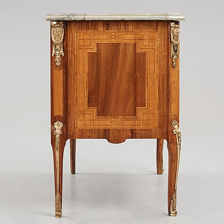 A gustavian commode by gottlieb iwersson, 1791 (master in stockholm 1778-1813).