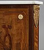 A gustavian 18th century secretaire by gottlieb iwersson, master 1778, not signed.