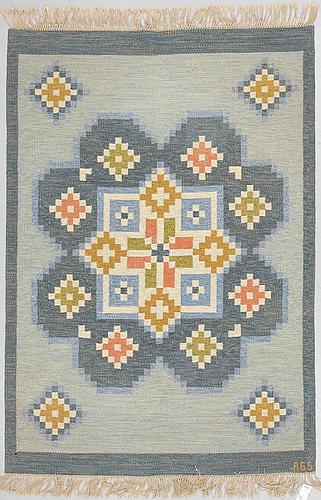 Anna-greta sjÖqvist, matta, rölakan, 238 x 167 cm, signerad ags.