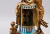 Bordspendyl. louis xvi-stil, 1800-tal. urtavlan märkt: nepveu, paris samt sevrés liknande märke.