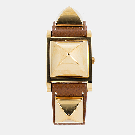 "HermÈs, ""medor"", wristwatch, 23 x 32 mm."