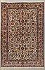 A carpet, semi-antique tabriz 342 x 231 cm.