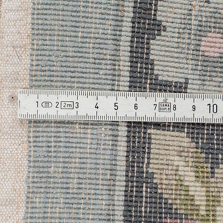 A rug, old  silk china, ca 271 x 180 cm.