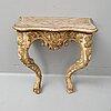 Konsolbord, rokoko, 1700-talets andra hälft.