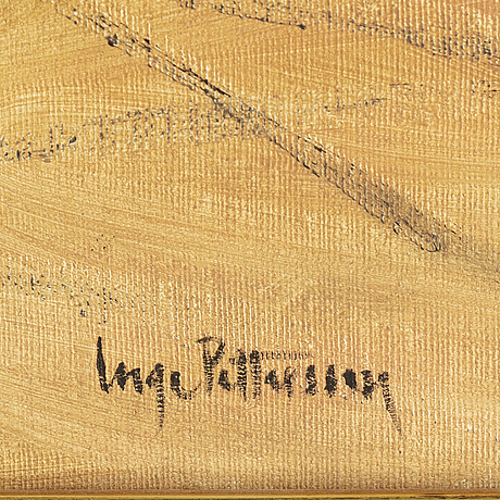 Inge pettersson, oil on canvas, signed and dated 2000.