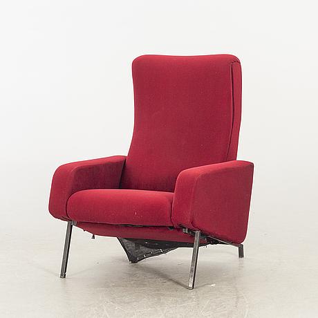 """Pierre guariche, fåtölj """"trelax"""" för meurop belgien 1960-tal."""