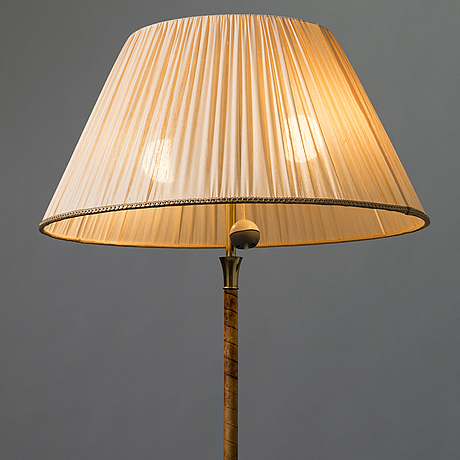 A mid-20th century floorlamp for itsu, finland.