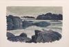 Parti litografier, 4 st, roland svensson, jorgo krallis och ulf gripenholm.  sign och numr.