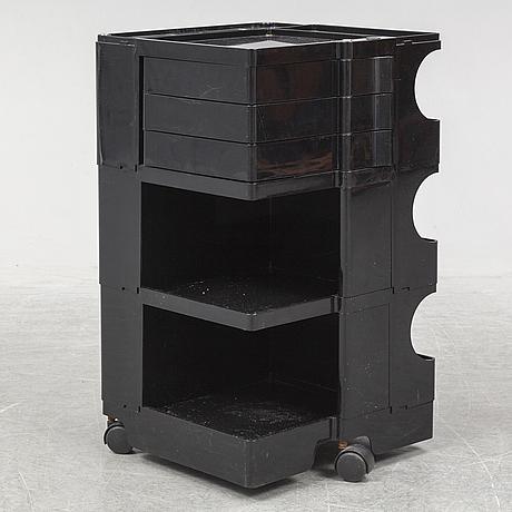 Boby portable storage system by joe colombo. bieffeplast, padova, italy, designed 1968.