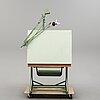 Arkitektbord/ritbord, franz kuhlmann kg, wilhelmshaven, tyskland, 1900-talets mitt.