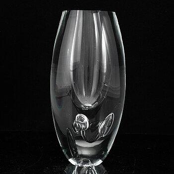 "TIMO SARPANEVA, a ""Claritas"" glass vase, Iittala, Finland 1987."