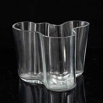 "ALVAR AALTO, a ""Model 3030"" glass vase, Iittala, Finland."