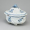 A 18th century faience tureen with cover, northern europe.