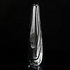 Vicke lindstrand, probably, a glass vase, kosta 1950-60's.