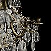 A first half of the 20th century rococo style chandelier.