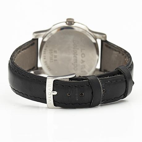 Bulgari, solotempo, wristwatch 35 mm.