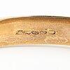 A 14k gold bracelet. aimo koskinen helsinki 1958.