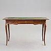 A swedish rococo 18th century writing table.
