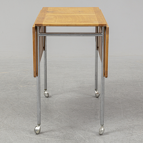 Bruno mathsson, a 'berit' oak and birch table.