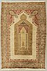 An antique anatol carpet ca 179 x 125 cm.