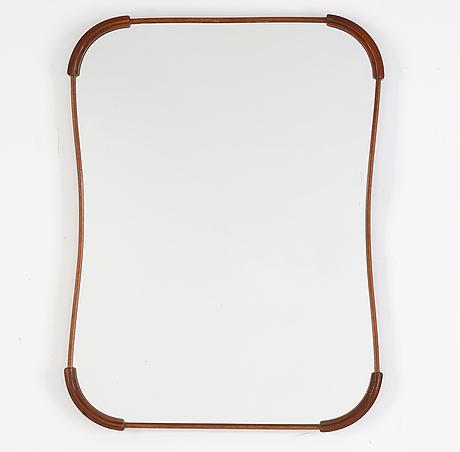 A swedish modern wall mirror 1950's.