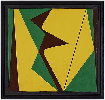 HARRY BOOSTRÖM, oil on panel, signed and dated -55.