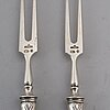 A pair of silver cutlery, moscow 1908-23.