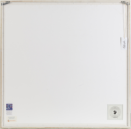 Ysabel lemay, kodak archival endura lustre. signed on label on verso. numbered 1/7.